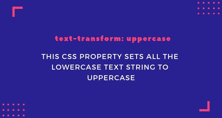 CSS text-transform - CSS All Caps, Upper, Lower & Title Case