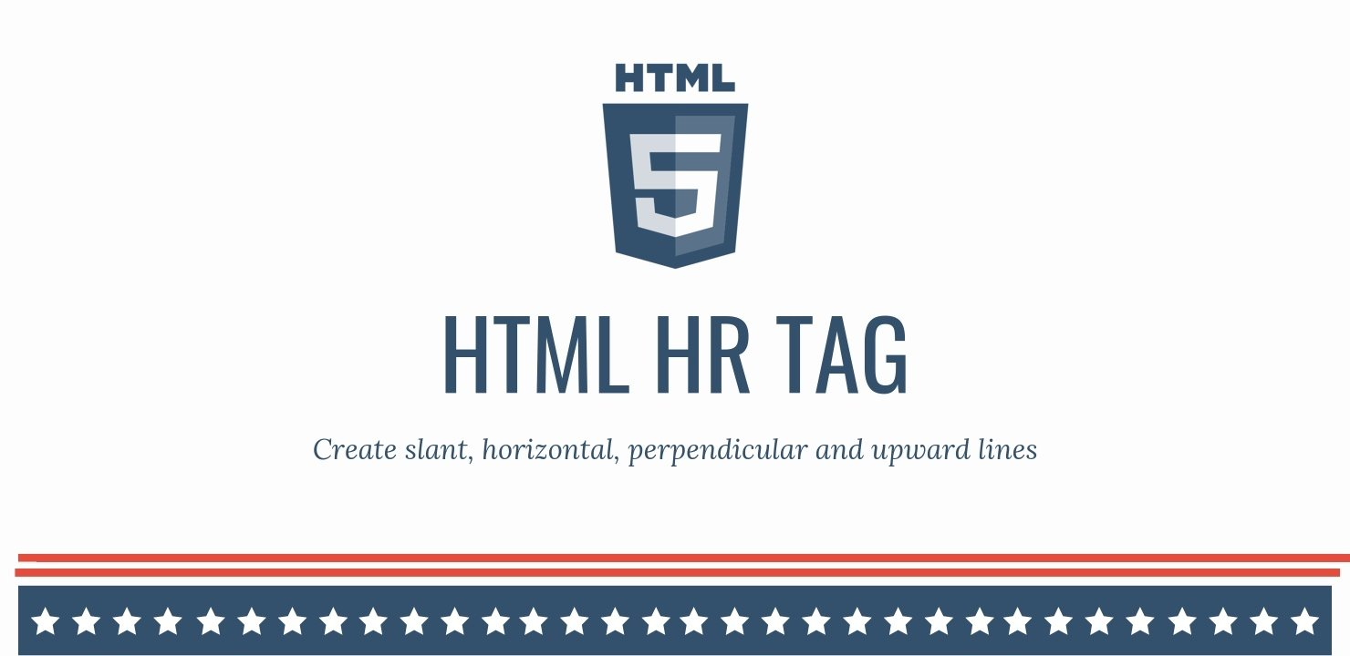 Horizontal line in HTML