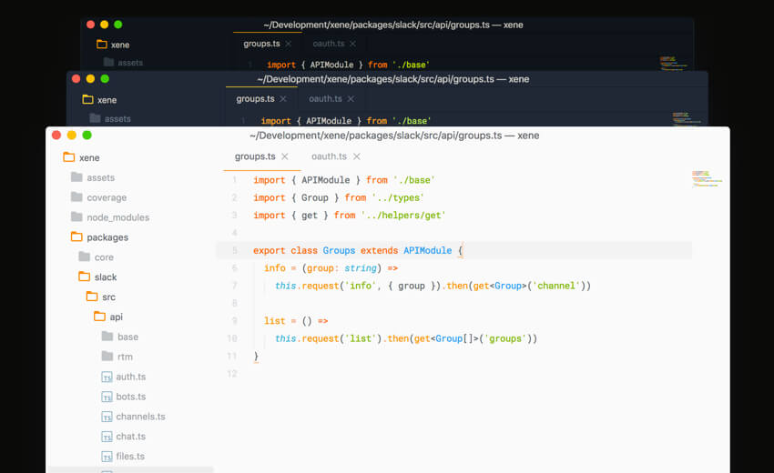 Ayu Modern Sublime text theme