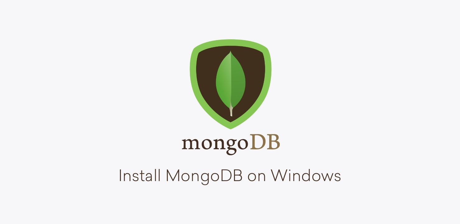 Install MongoDB on Windows