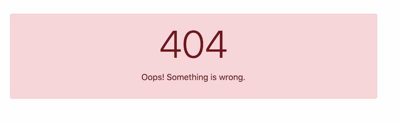 Create Custom 404 Page in Laravel 8