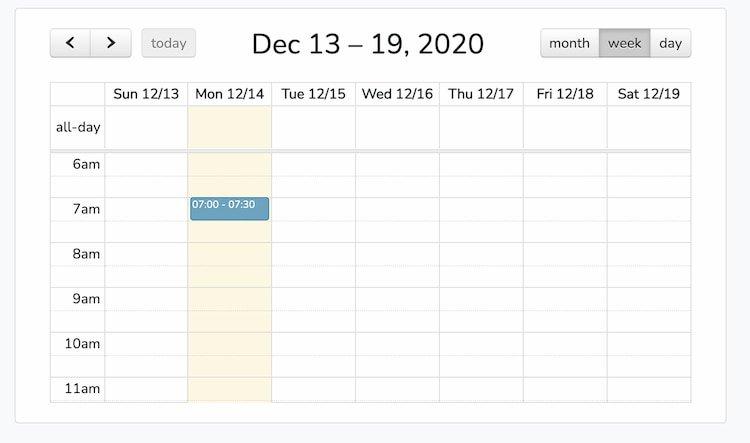 Laravel 8 Vue JS Full Calendar Example