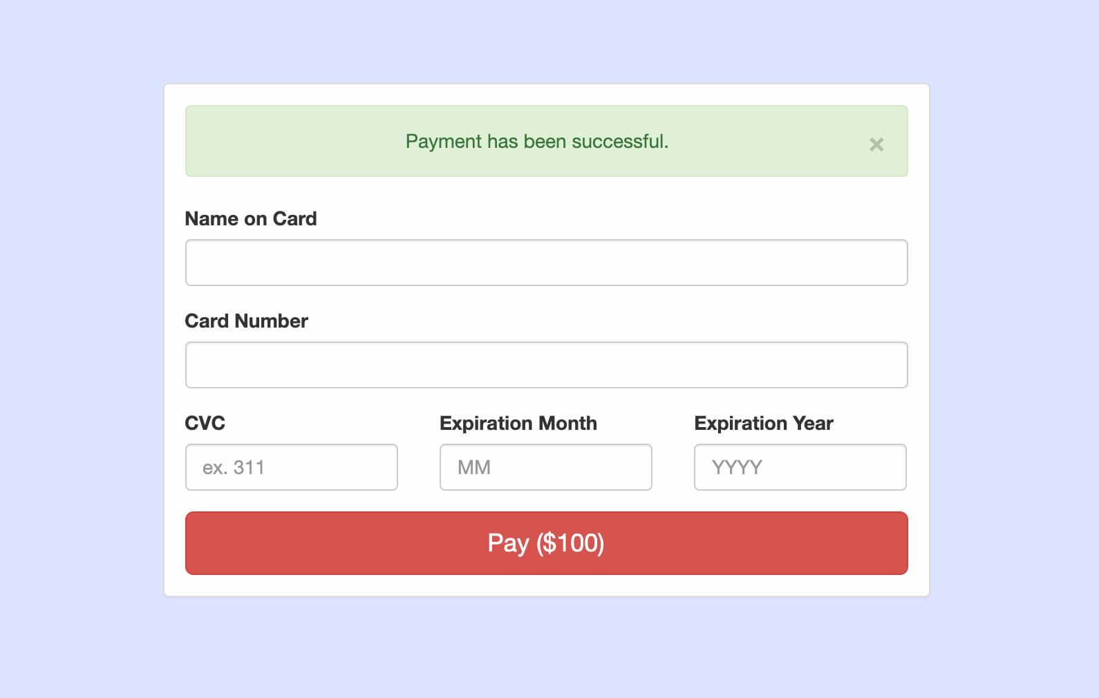 Integrate Stripe Payment Gateway in Codeigniter