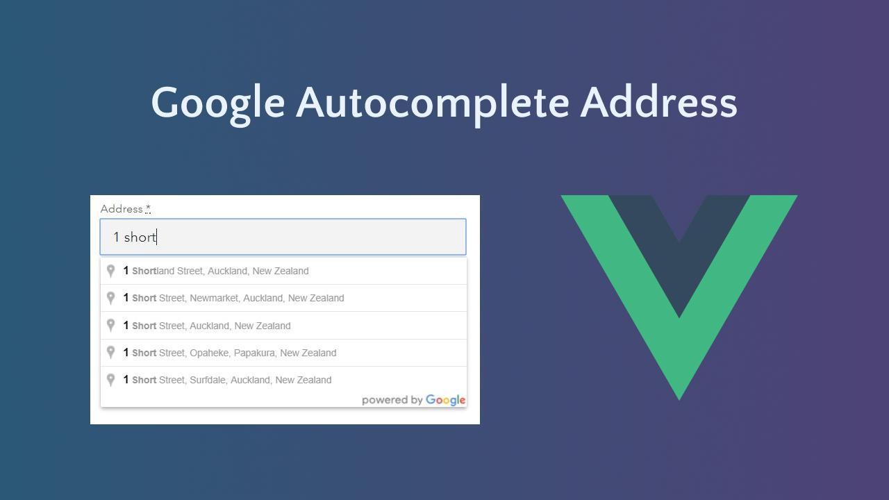 Google Autocomplete Address Search in Codeigniter