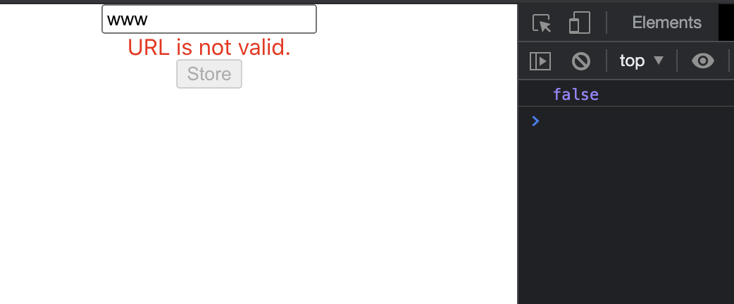 React Js Validate URL using Regular Expression Tutorial
